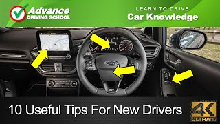 10 Useful Tips For New Drivers  |  Learn to drive: Car Knowledge