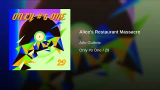 Alice's Restaurant Massacre