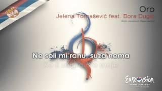 "Jelena Tomašević feat. Bora Dugić - ""Oro"" (Serbia) - [Karaoke version]"