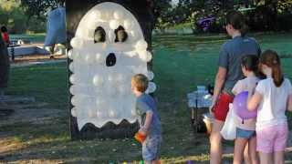 Halloween Game for Kids - BOO-Loon Pop - NO DARTS Needed!