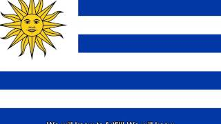 Uruguayan National Anthem - English lyrics (Vocal)