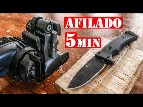 Afilar Cuchillos, Hachas O Navajas - Super Afilado En 5 Minutos