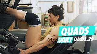 FULL BREAKDOWN | QUADS WORKOUT | #DLBDAILY