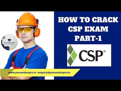 How To Crack CSP Exam - YouTube