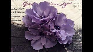 DIY Cute Fabric Flower (step By Step)