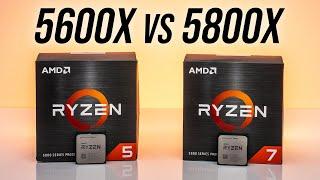 AMD Ryzen 5 5600X vs Ryzen 7 5800X - 6 or 8 Cores?