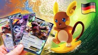 GIVEAWAY 🌟  Niemiecki ALOLAN RAICHU 🇩🇪 Opening Kart Pokemon