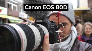 Canon EOS 80D | Hands-on english review | THE VLOGGING Camera with special features
