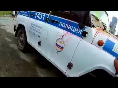 Подростки с криками АУЕ, напали на полицейских в Челябинске
