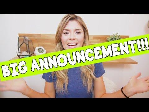 BIG ANNOUNCEMENT // Grace Helbig