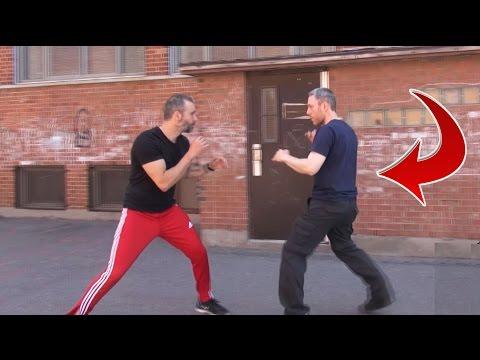 Footwork Drill   Self Defense Training