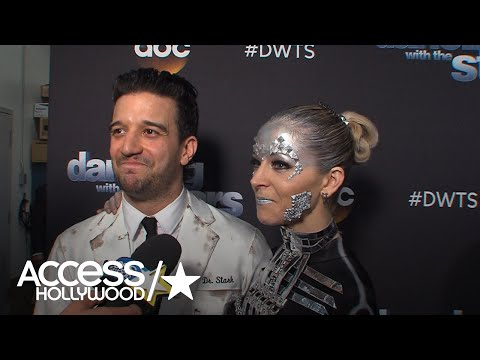 'DWTS': Lindsey Stirling & Mark Ballas Gush About Their Perfect Score | Access Hollywood