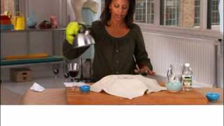Real Simple How To: Remove a Red Wine Stain