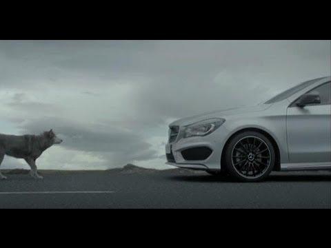 Mercedes Benz  Cla Class Coupe Купе класса C - рекламное видео 3