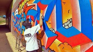 Graffiti - Rake43 - Comic Style