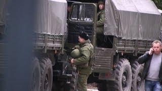 Российские военные приехали в Ялту!