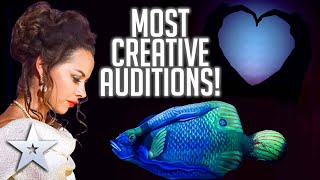 Most CREATIVE Auditions!  | Britain's Got Talent