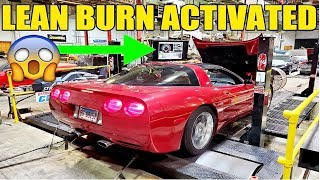 We Tuned A Corvette For Prius Fuel Economy & Z06 Power With LEAN BURN MODE! Project 40 MPG EcoVette!