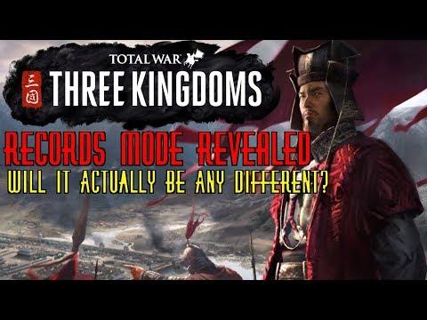 BREAKDOWN - Total War: THREE KINGDOMS - Records Mode Reveal