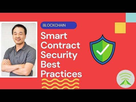 DApp 101 - Smart Contract Security Best Practices