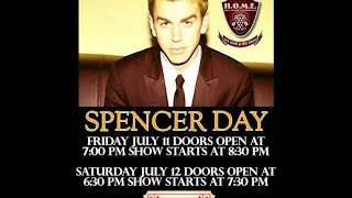 Spencer Day performs at HOME Beverly Hills