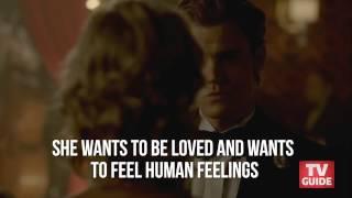 """Девушки из сериала """"Дневники Вампира"""", The Vampire Diaries Bite - Episode 4x10 - Claire Holt interview"""