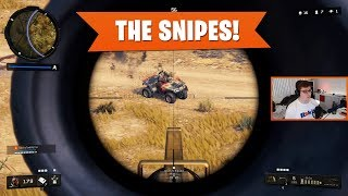 THE SNIPES! | Black Ops 4 Blackout | PS4 Pro