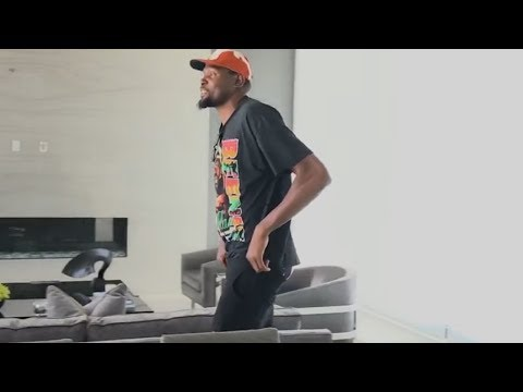 Kevin Durant Gives a Tour of His SICK L.A. Home, Gets a Gangsta Ass Housewarming Gift