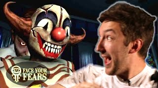 People Face Their Fear Of Clowns In Virtual Reality thumbnail