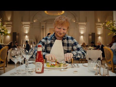 Ed Sheeran miluje kečup