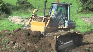 Komatsu D65PX Bulldozer working