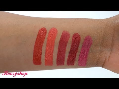 Revolution Pro Revolution Pro Lipstick Collection Reds