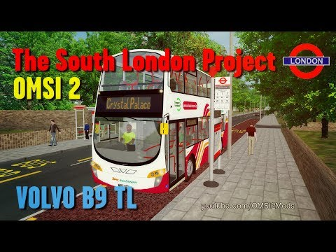 OMSI 2 | Snow Troubles - The South London Project - Route N3