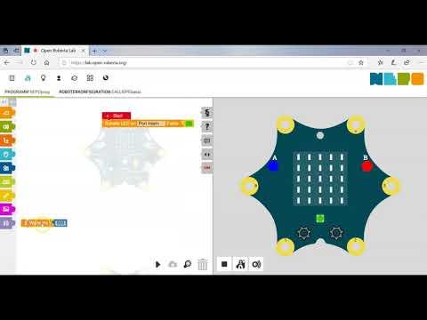 Calliope mini - RGB Licht programmieren