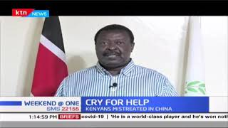 Mudavadi wants gov\'t to act with urgency to save Kenyans mistreated in China