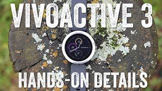 GARMIN VIVOACTIVE 3: HANDS-ON EVERYTHING!