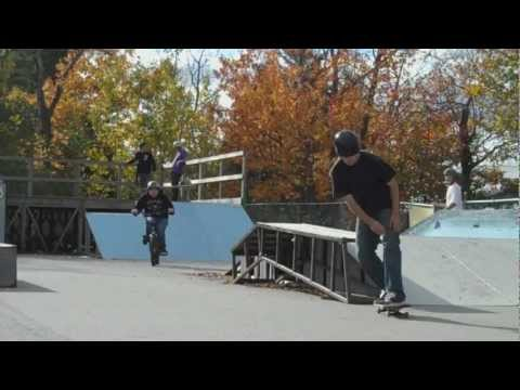 A Day At The Ellsworth Skatepark