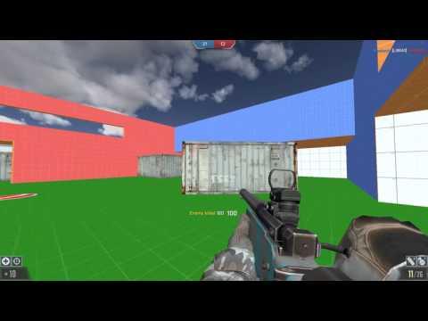 Au Modern Fps - Sniper em mapa pequeno