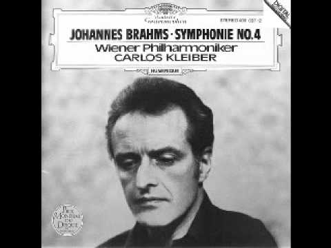 Carlos Kleiber / Wiener Philharmoniker: Brahms - Symphony No. 4