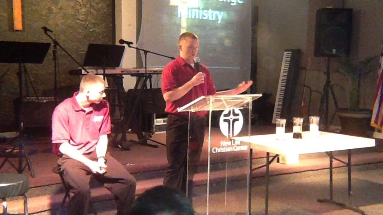 Thankful for Changed Lives with Teen Challenge Ministry