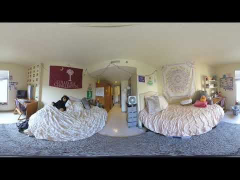 4K 360° Residence Hall Tour -- Berry -- College of Charleston