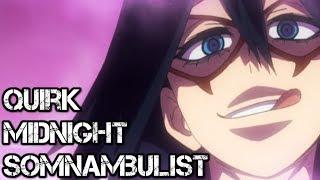 Nemuri Kayama  - (My Hero Academia) - Midnight's Somnambulist Quirk Explained | My Hero Academia