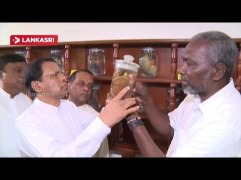 Seacology--Sudeesa-Mangrove-Museum-Opened-by-The-President