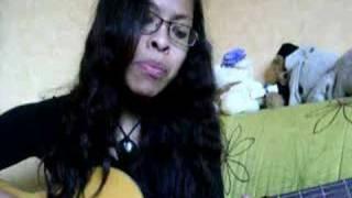 Me singing Lachlom by Yael Naim