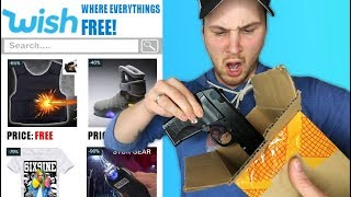 I Bought Every FREE Item That SHOULDN'T Be Sold On WISH!! (CRAZY UNBOXINGS)