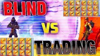 Most *INSANE* Blind Trading BATTLE Yet! | Fortnite Save the World