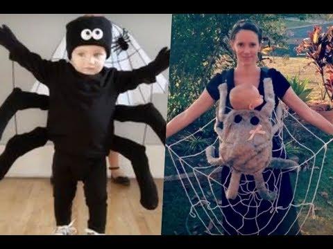 Disfraces de araña para niños