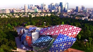 Fondation Louis Vuitton en Drone