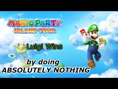 Yes, You Can Also Win Mario Party: Island Tour By Doing Nothing.