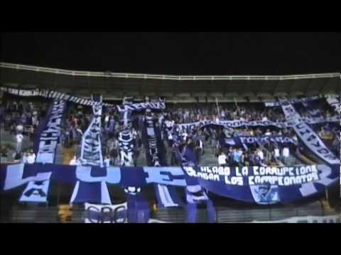 """""""BLUE RAIN ...millos  vs bucaramanga"""" Barra: Blue Rain • Club: Millonarios"""